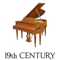 Explore 19th Century pianos