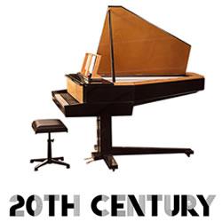 Explore 20th Century pianos