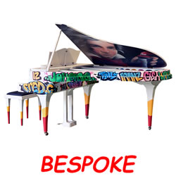 Explore Bespoke pianos