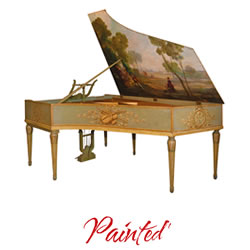 Explore painted pianos