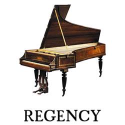 Explore Regency pianos