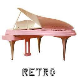 Explore retro pianos