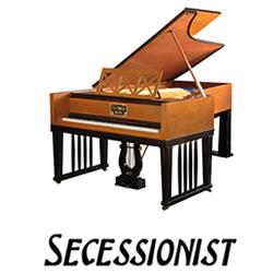 Explore Secessionist pianos