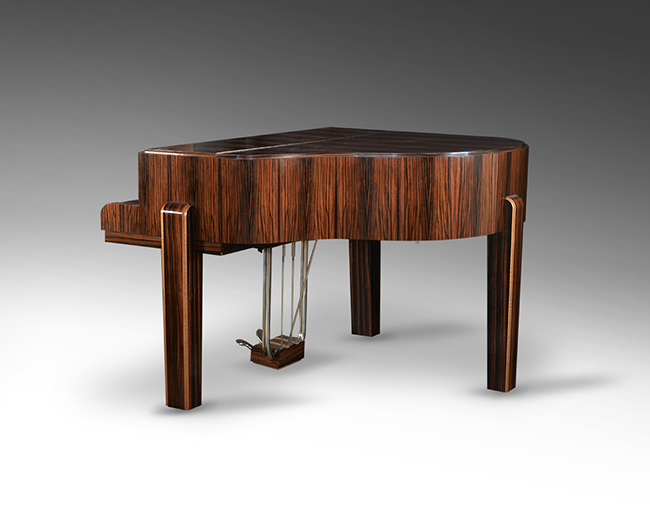Art deco grand piano gaveau paris 1932 period piano for Piani art deco