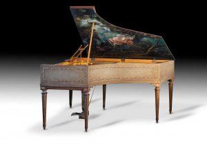 Gaveau Art Case Piano Fragonard