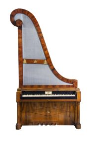 Viennese Giraffe piano. Fortepiano