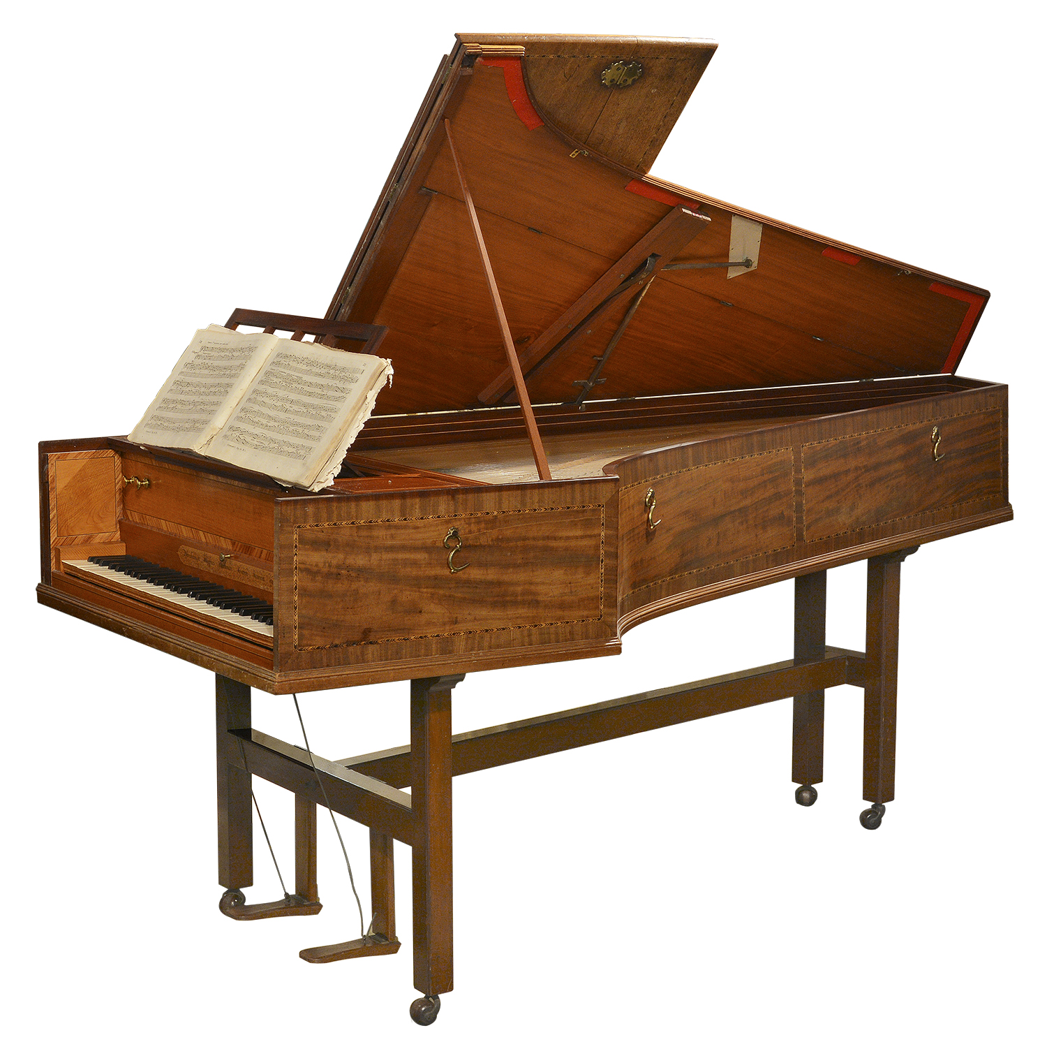 Harpsichord by Kirckman, 1792 - Period Piano Company