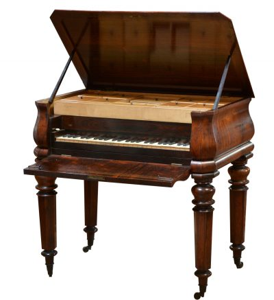 Sewing Table Piano, Anonymous, ca. 1840
