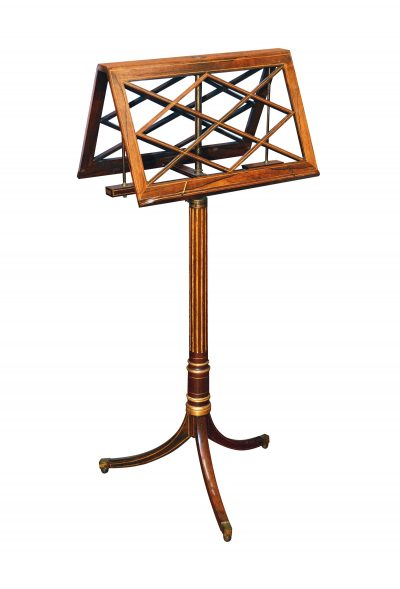 Regency Antique Music Stand by Erard