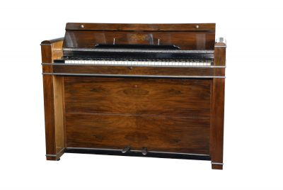 Invicta Art Deco Upright Piano, ca 1930