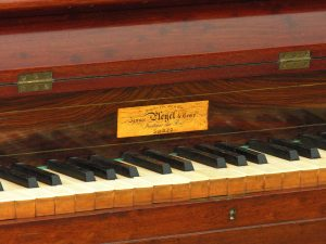Chopins piano, Pleyel Pianino