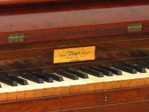 Chopins piano, Pleyel Pianino
