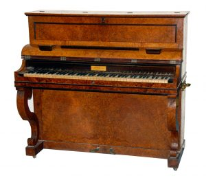 Pleyel Pianino, Frederic Chopins piano