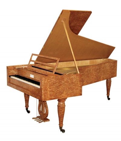 Fortepiano by David Winston, 2008 after Schott, Vienna, ca. 1830