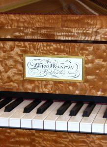 Viennese fortepiano, David Winston fortepiano, Viennese fortepiano