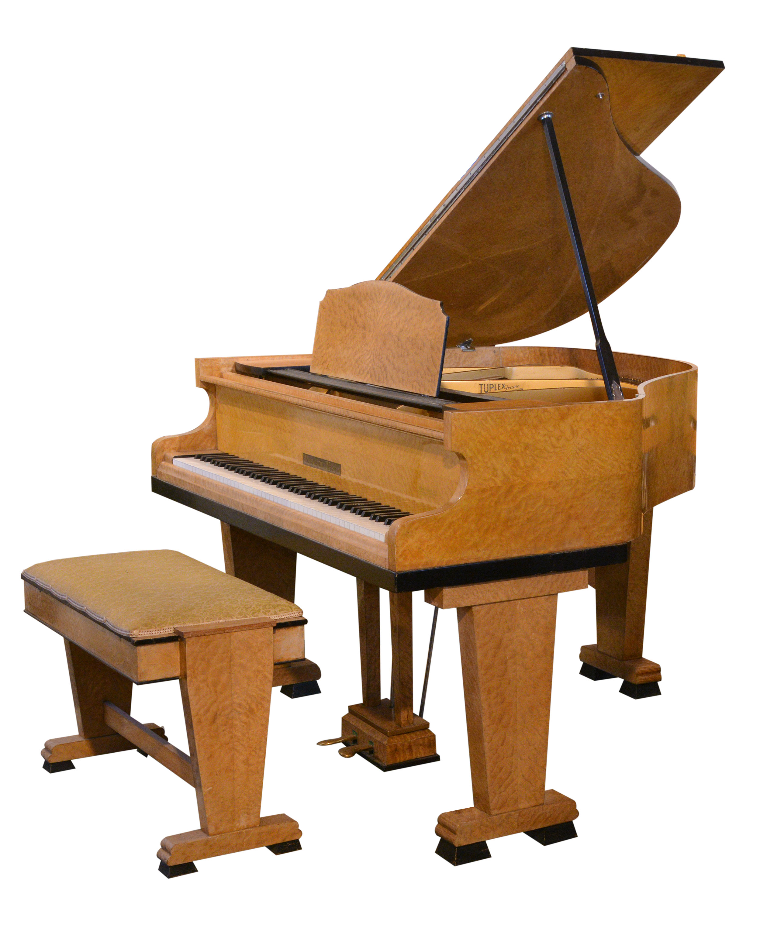 monington and weston art deco grand piano ca 1930 period piano company. Black Bedroom Furniture Sets. Home Design Ideas