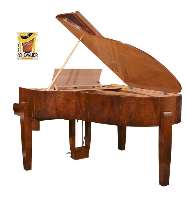 Gaveau Art Case Piano, Maurice Chevalier