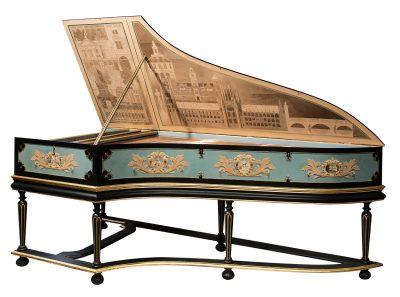 Harpsichord by David Rubio, Cambridge, 1995