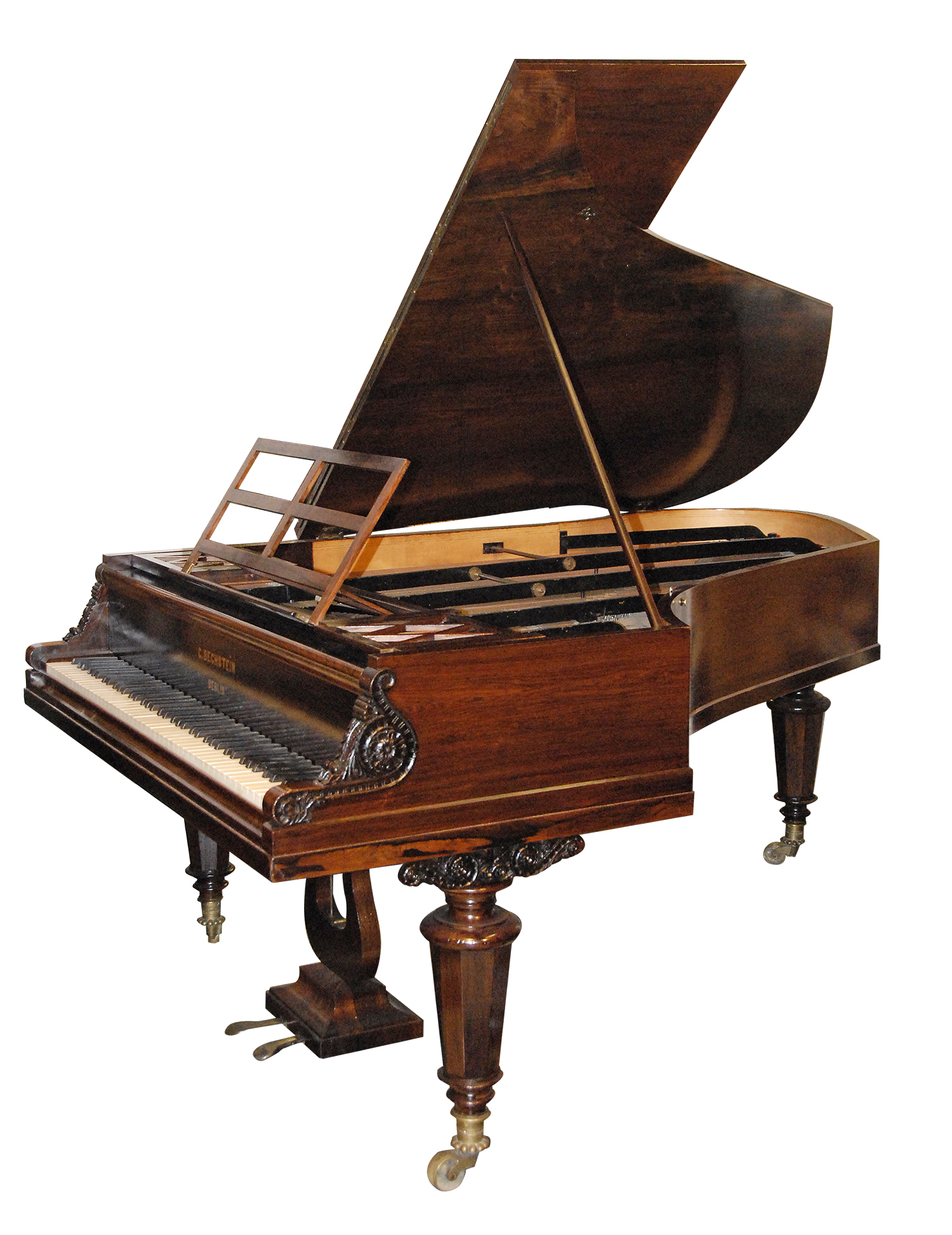 Bechstein grand piano, fortepiano, art case piano, period piano