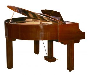 Art Deco Grand Piano Strohmenger ca 1930