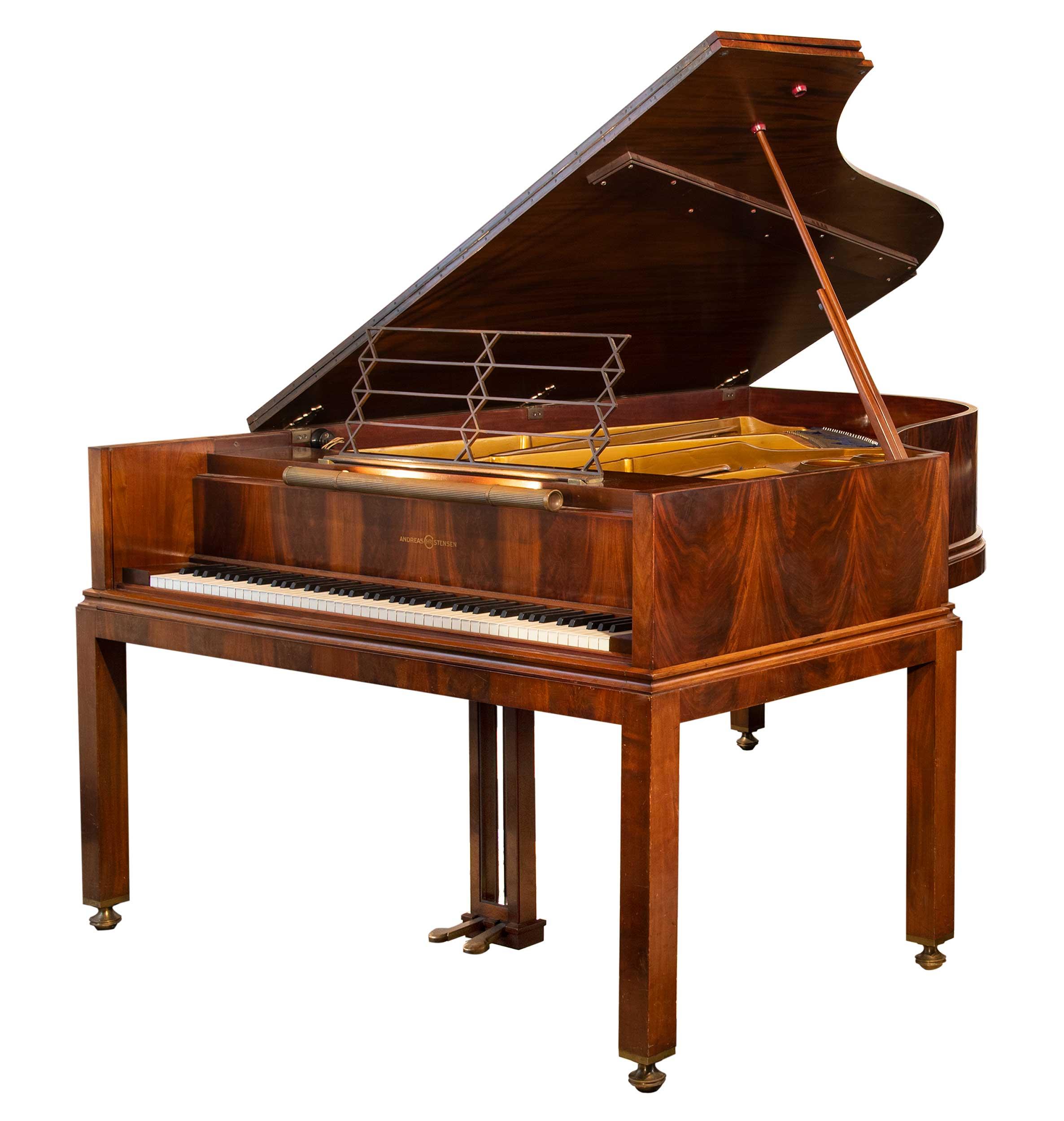Art Deco piano, Andreas Christensen, Danish Modern, Modernist Style