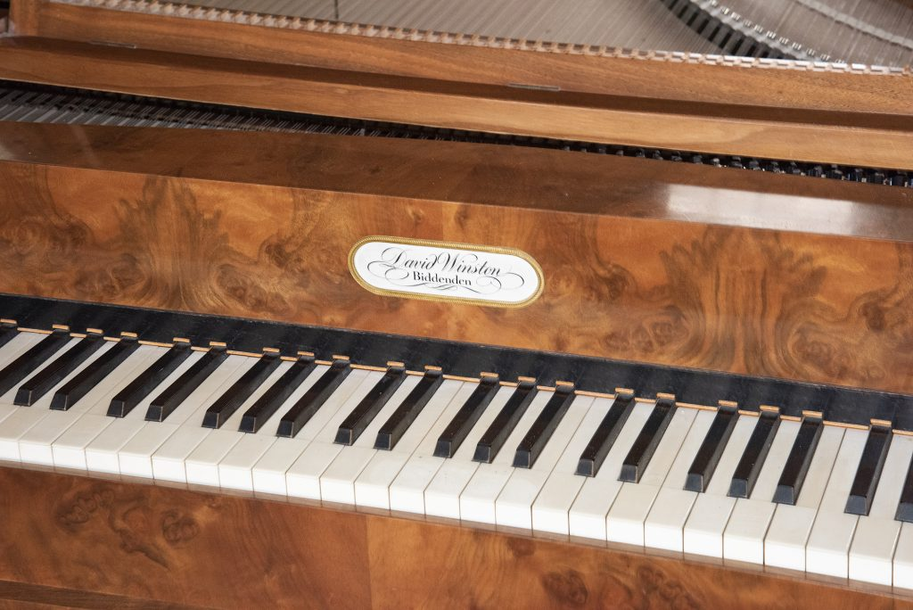 Viennese fortepiano after Brodmann, 1823, by David Winston