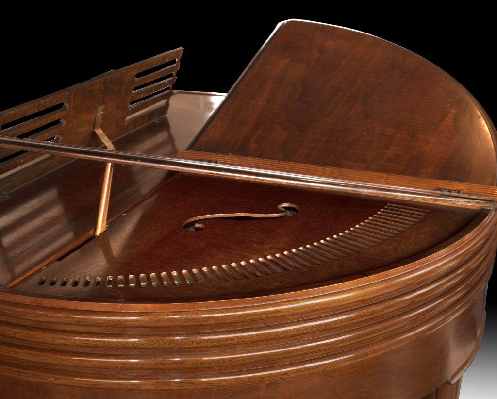 Art Deco Grand Piano, Wurlitzer Art Deco Butterfly Grand Piano